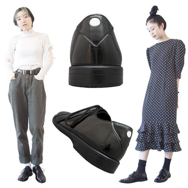 画像2: No.611 / Shiny black (黒エナメル)